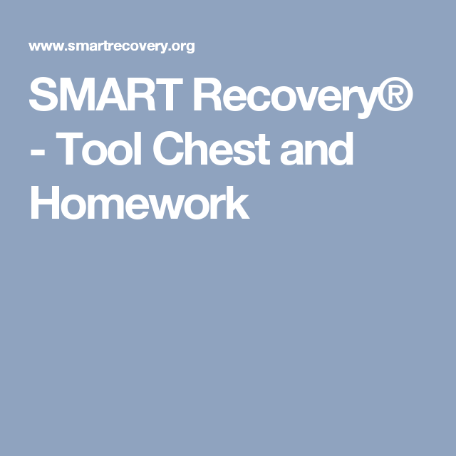 Discover The Smart Recovery Toolbox In 2018 Addiction Recovery