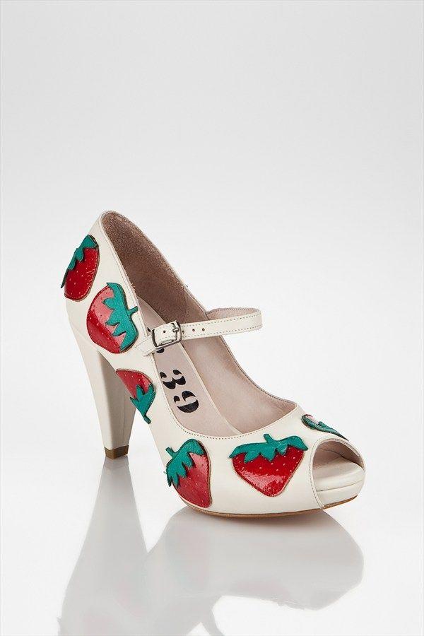 Nr 39 Bride Shoe Wedding Gelin Ayakkabisi Strawberry