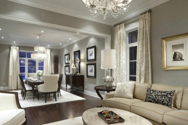 wandfarbe wohnzimmer wandfarben gestaltung | ideas for the house, Deko ideen