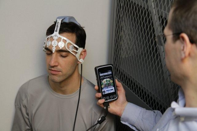 KC Elsasser - This is a new device, recently approved by the FDA which scans the patient's brain activity and determines if a brain injury is present. The user interface is a smartphone, which makes this technology easily portable and storable.  This type of technology would be great for smaller clinics as it is not a major financial investment and for triage situations where large equipment is not feasible.