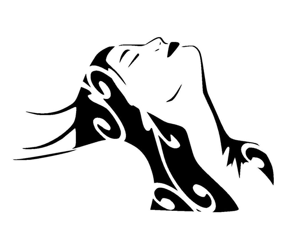 Spray Paint Stencil Ideas Part - 19: Vintage Woman Stencil 2 Craft,fabric,glass,furniture,wall Art
