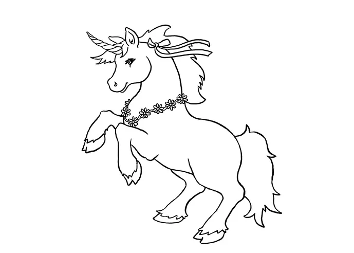 Easy Unicorn Coloring Pages Kids Learning Activity Unicorn Coloring Pages Coloring Pages Coloring For Kids