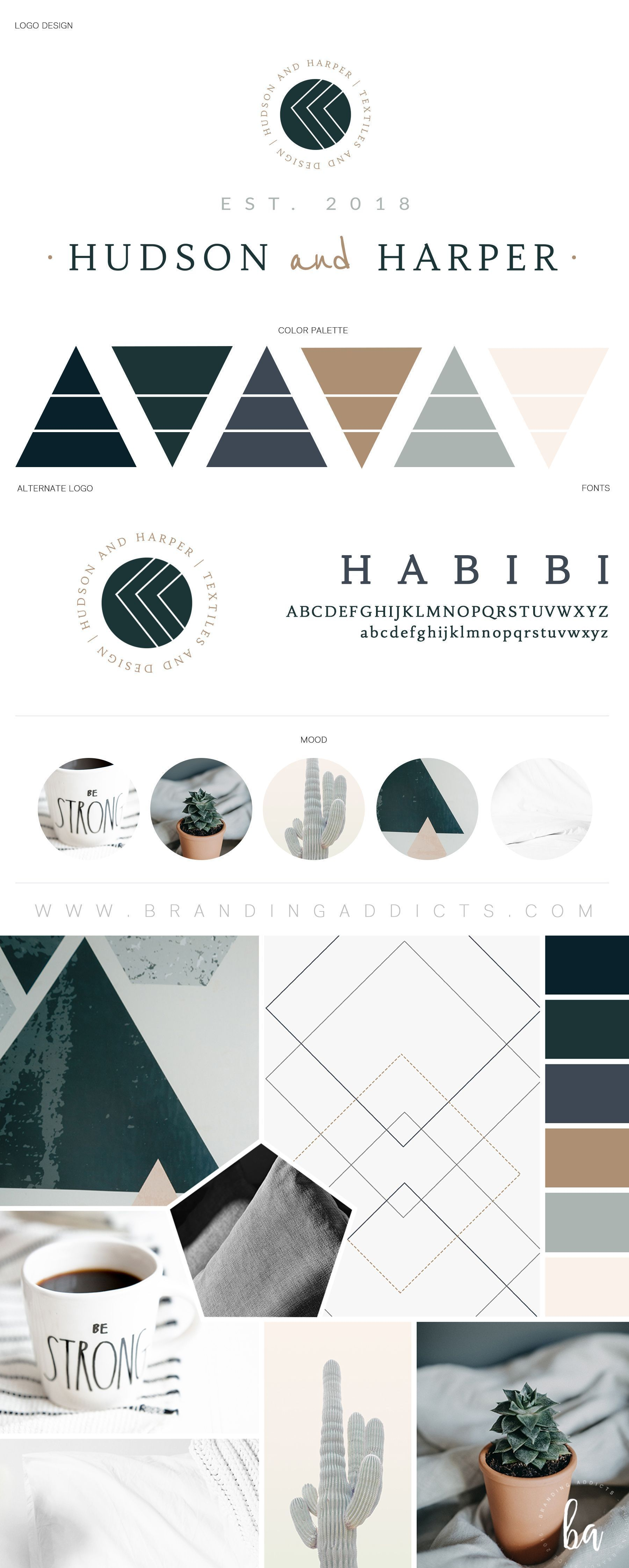 Fresh Brand Design For A Luxury Textiles And Design Business