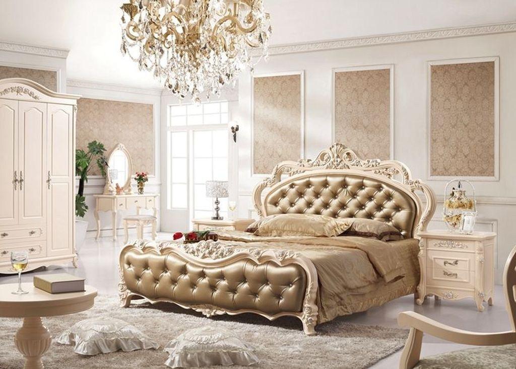 amazing luxury champagne bedroom ideas with elegant style