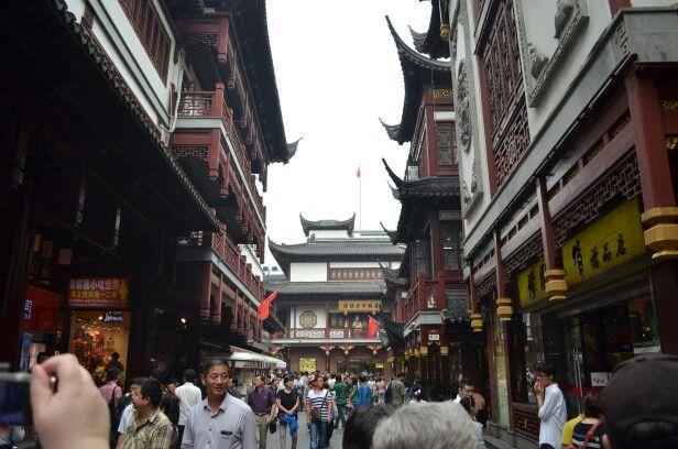 Oude stadsdeel Shanghai