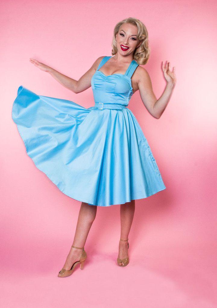 Marseilles dress baby blue sateen dresses baby dress