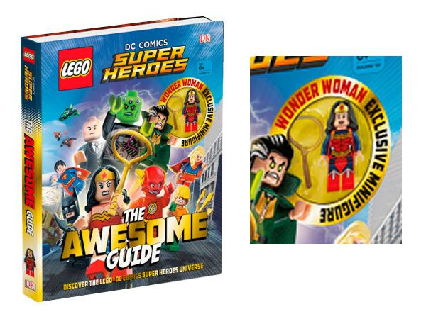 Minifig Exclusive Wonder Woman Avec Le Livre Lego Super