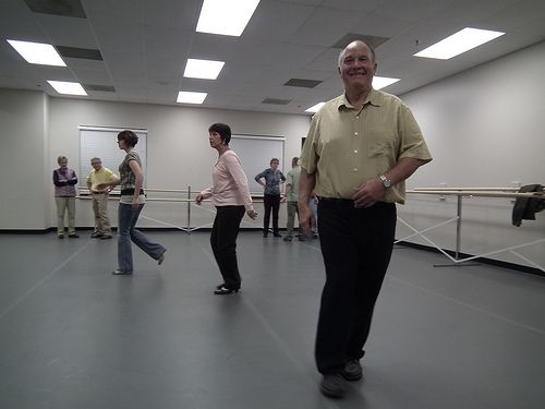 Jay Groelz teaches ballroom dancing for the Hastings and Grand Island campus.
