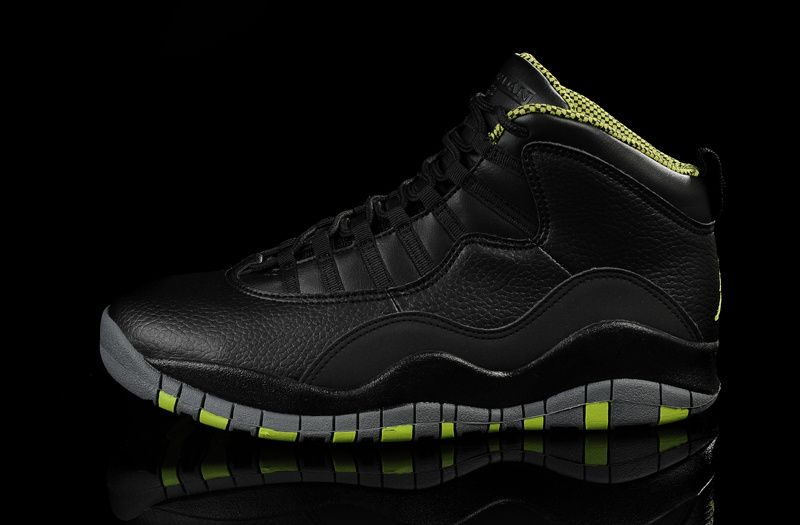 check out 4b8aa 4b995 Air Jordan 10 Retro Black Green | Things to wear | Air ...