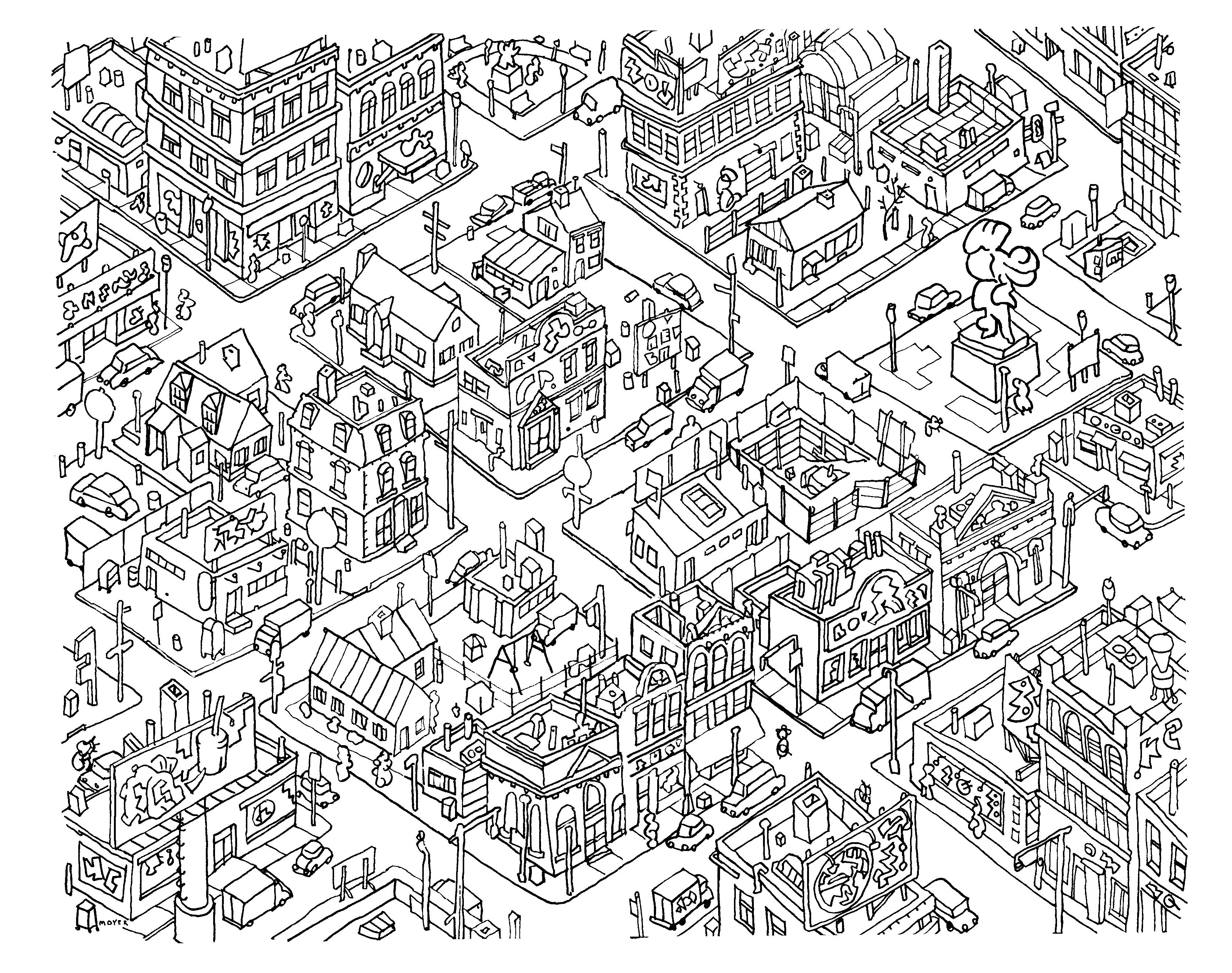 doodle art coloring pages - Doodle Coloring Pages