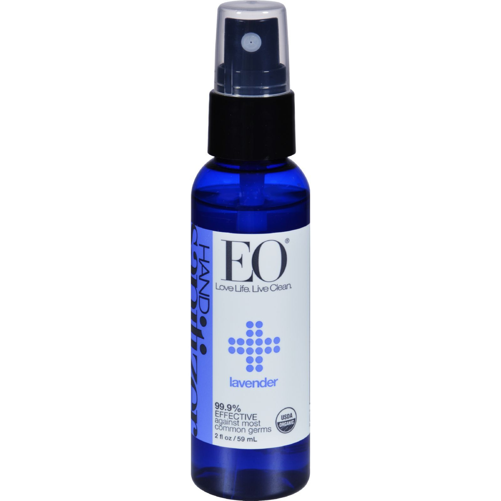 Eo Products Hand Sanitizer Spray Lavender 2 Fl Oz Case Of 6