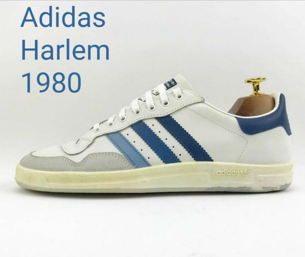 Vintage Adidas Harlem, made in Adidas' Italian factory in
