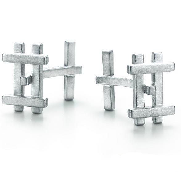 Frank Gehry Axis Cuff Links