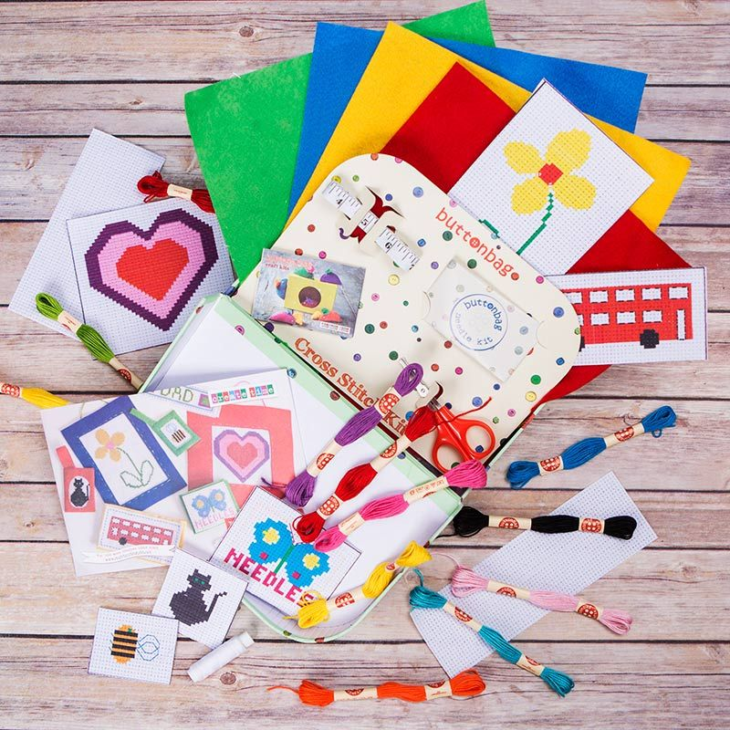 Learn to Cross Stitch Kit Cross stitch kit, Cross stitch