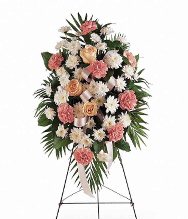 Gentle Thoughts Spray in 2020 Sympathy flowers, Funeral