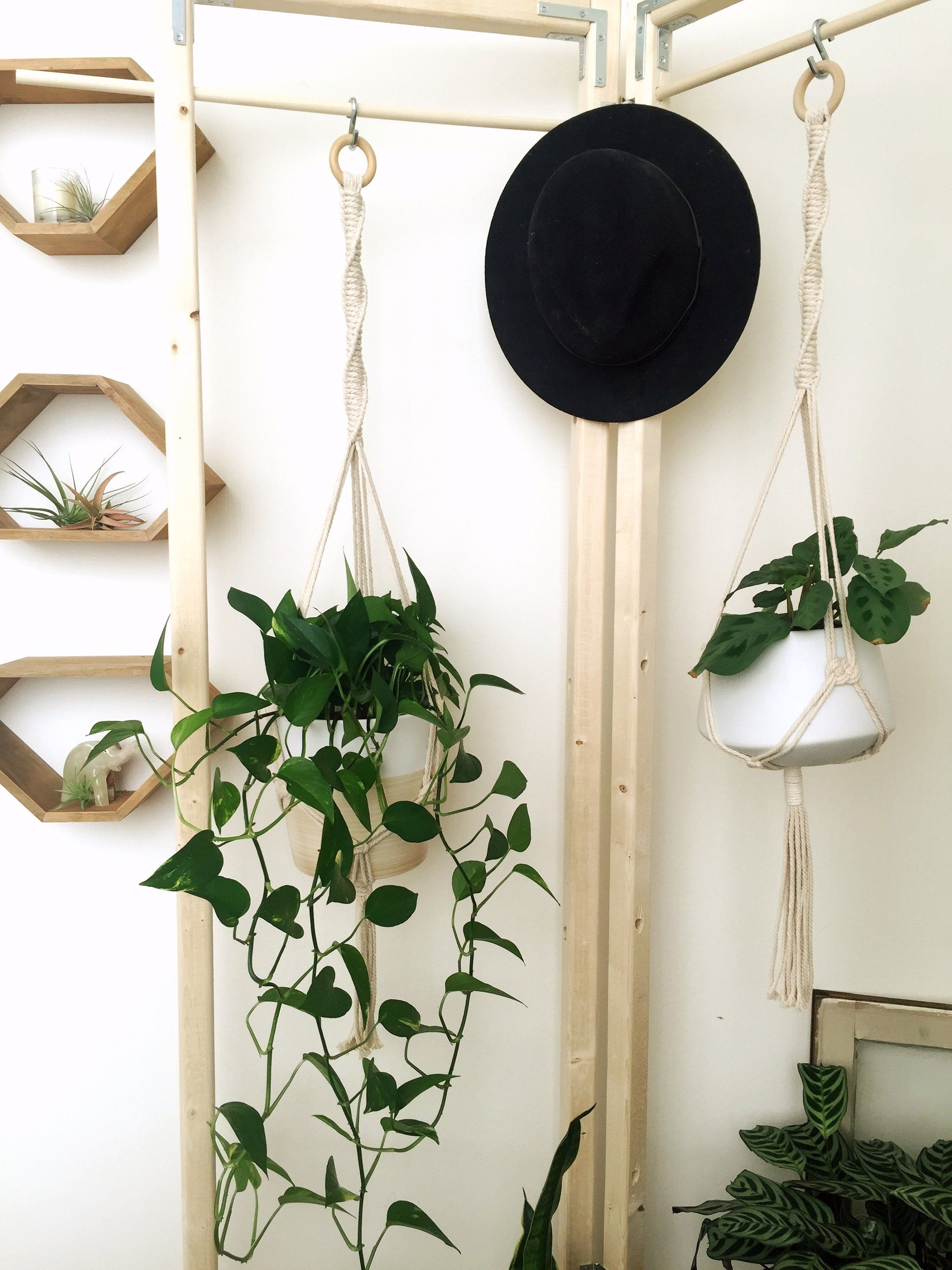 The Knotted Wild Macram 233 Plant Hanger By Theknottedwild On