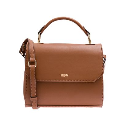a5483008654b6 SCHUTZ - Bolsa Schutz crossbody - marrom - OQVestir   Accessories+ ...