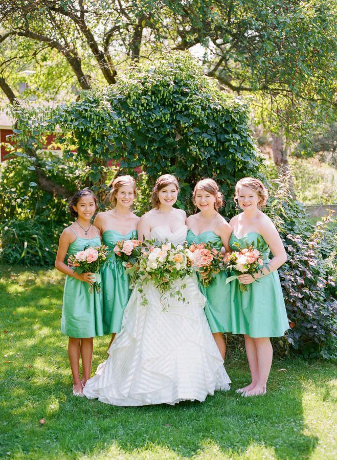 Ireland Inspired Green Garden Wedding
