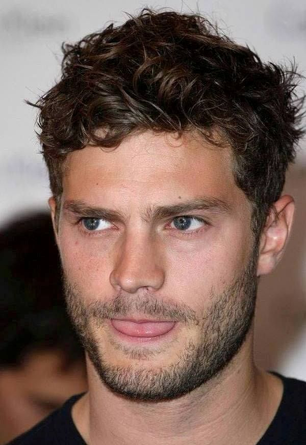 Short Curly Hairstyles For Men Haircut  Mens Grooming  Pinterest  Face Eye And Handsome Faces