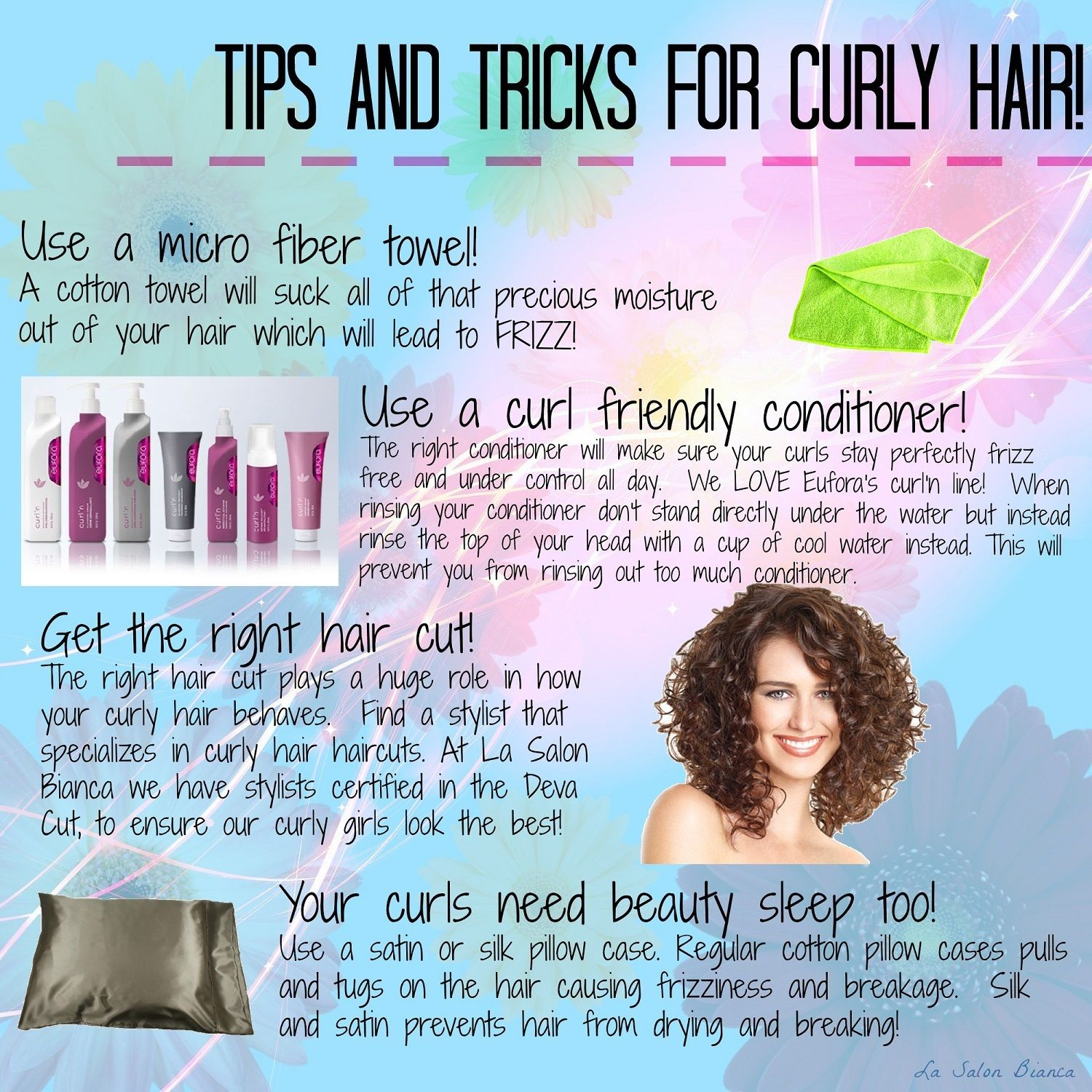 Tips And Tricks For Curly Hair Curly Hair Styles