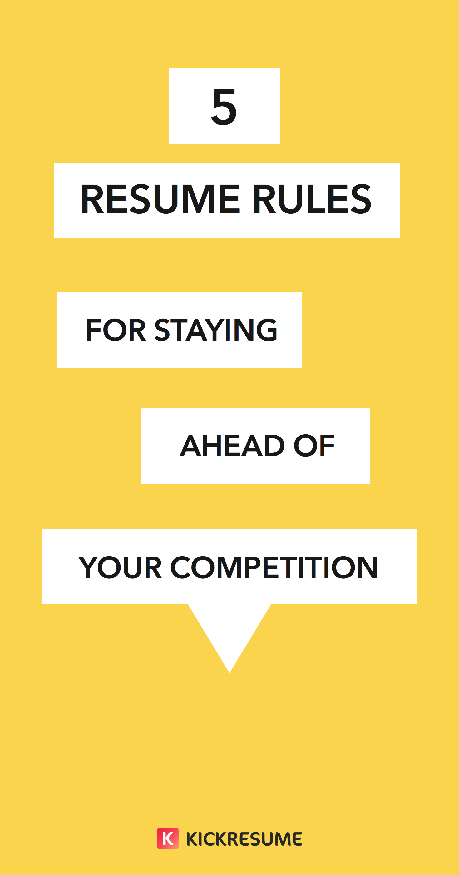 5 Resume Rules For Staying Ahead Of Your Competition Https Blog