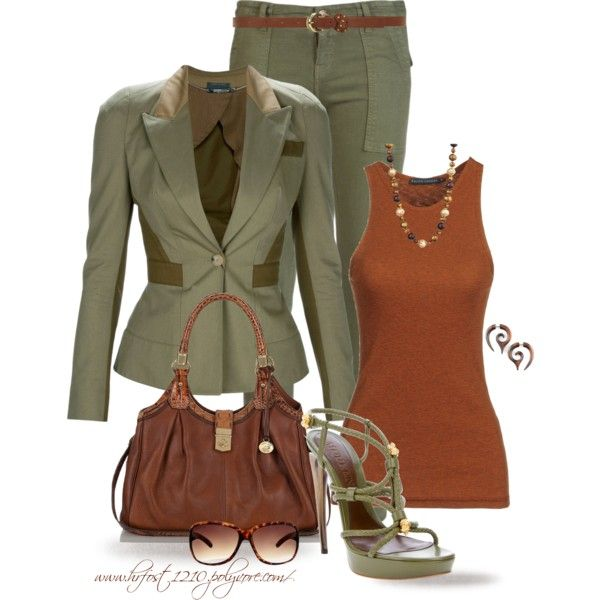 """* MILITARY CHIC *"" by hrfost1210 on Polyvore"