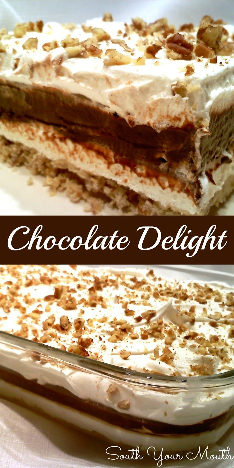 Chocolate Delight Recipe Deserts Sinful Stuff Pudding