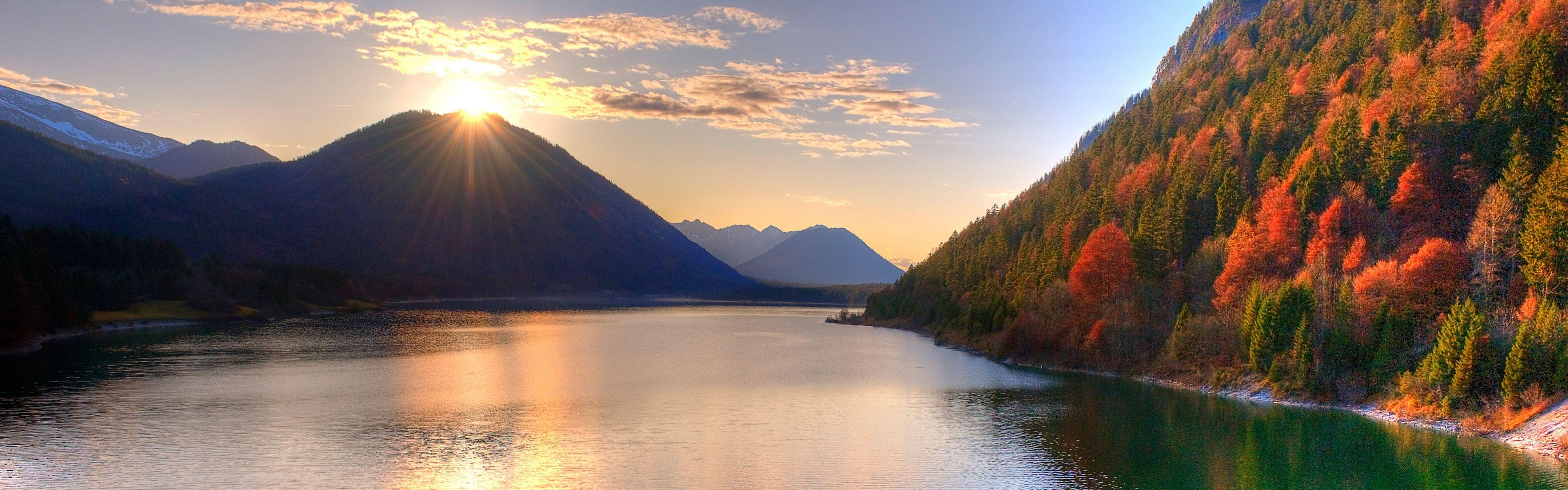 Autumn Season Iphone Panoramic Wallpaper Download Ipad Sunset Wallpaper Beautiful Sunset Beautiful Wallpapers
