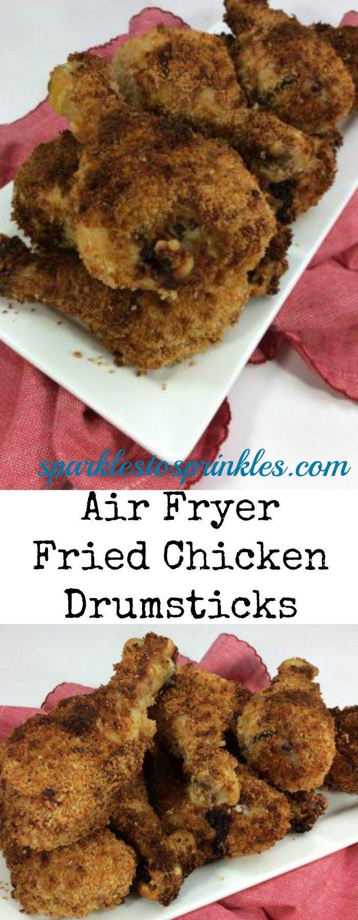 Air Fryer Fried Chicken Drumsticks Recipe Air fryer