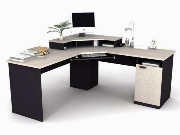 Dimensionen bei dem Büromöbel Design - büromöbel design pc tisch ...