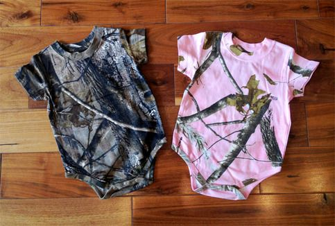 Realtree Infant Onesie from LUCKLESS CLOTHING | Camo baby ...