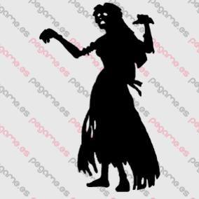 Pegame.es Online Decals Shop  #dead #halloween #fear #zombie #vinyl #sticker #pegatina #vinilo #stencil #decal