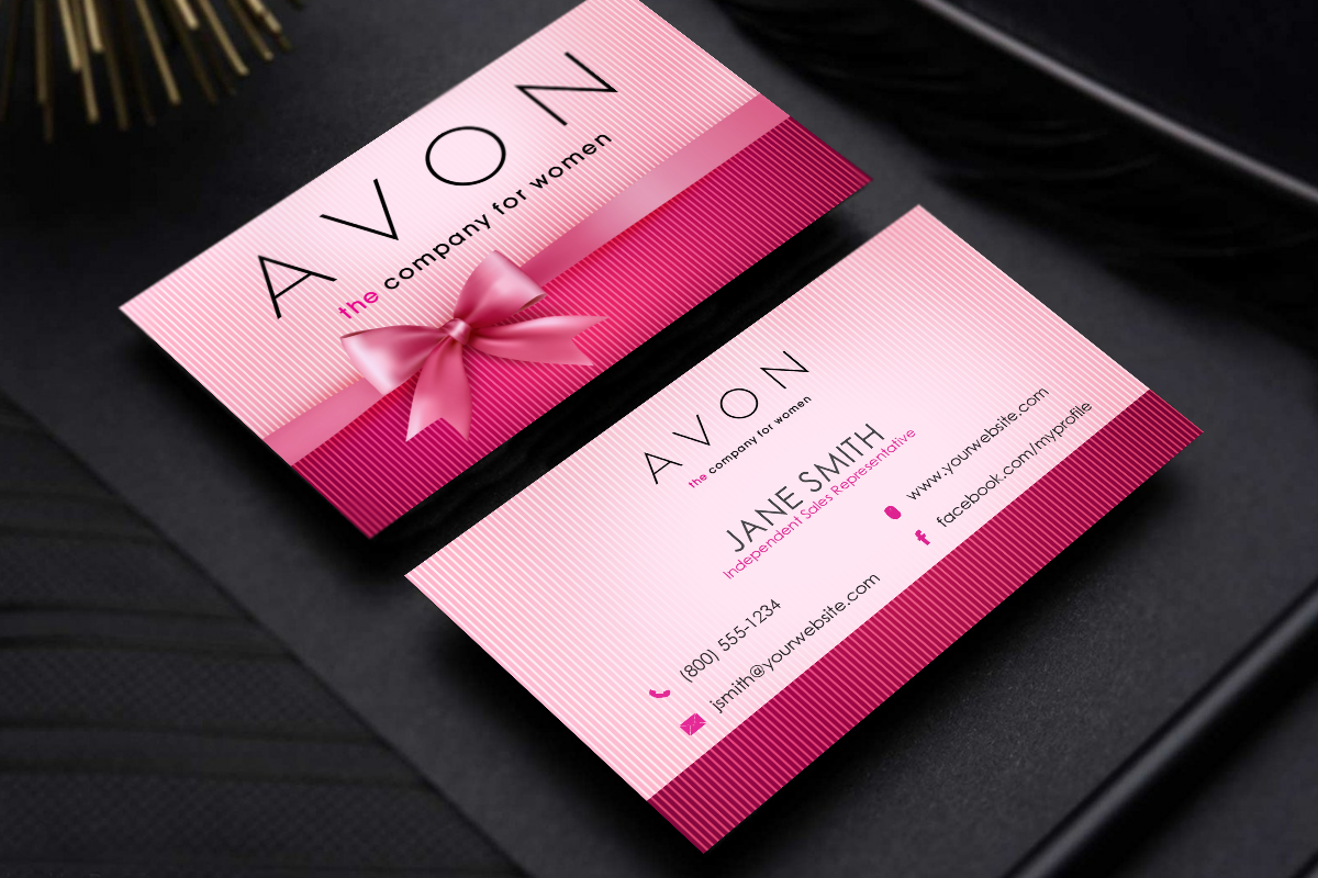 Avon Business Cards Free Shipping Printing Business Cards Free Business Cards Business Cards