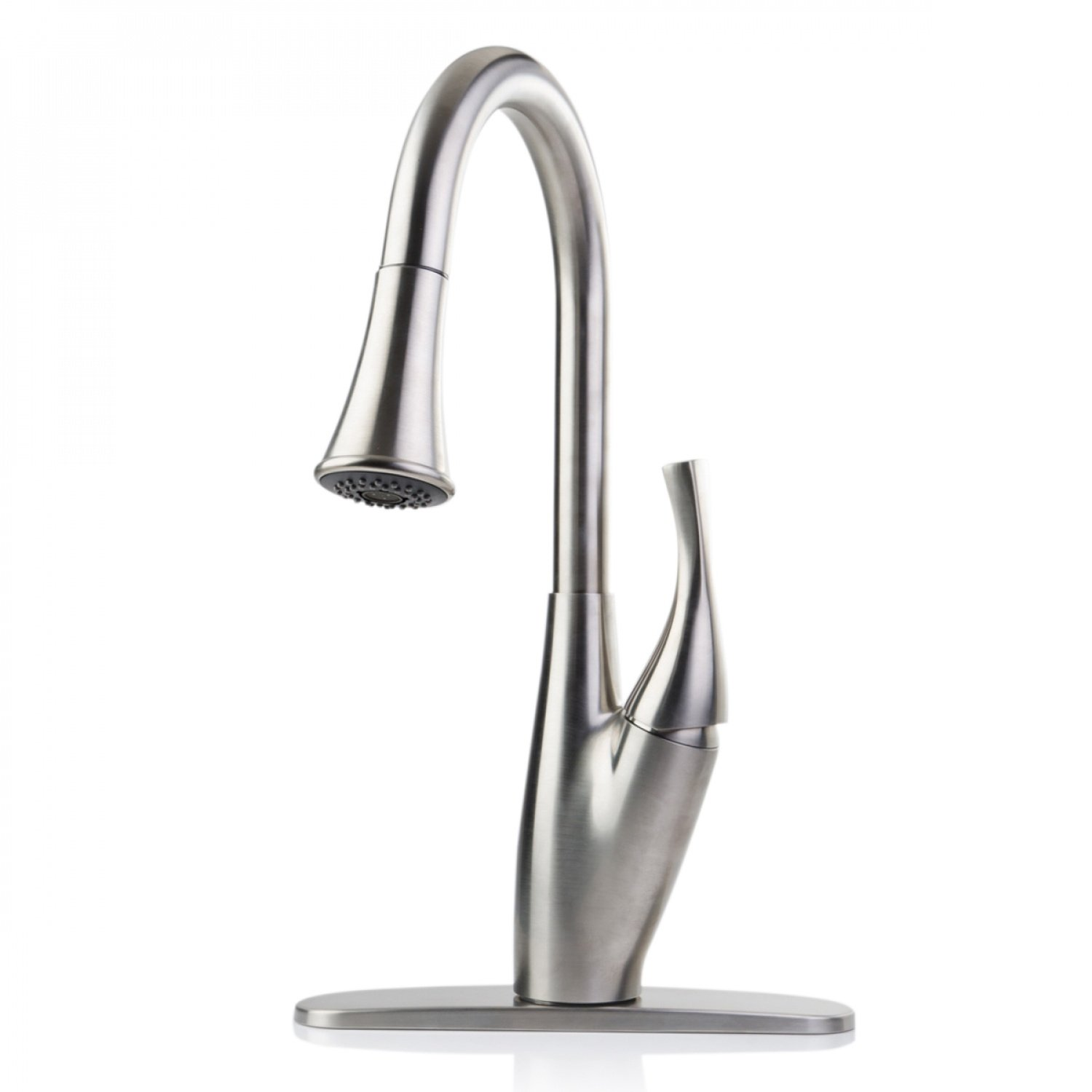 Ispring Lj01abn Single Handle Swivel Kitchen Bar Sink Faucet With