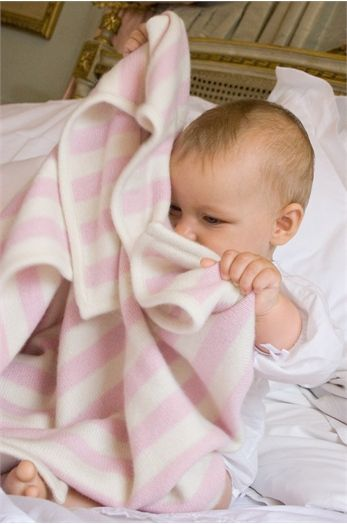 Baby Gift London : Classic cashmere luxury baby gift available at babes with