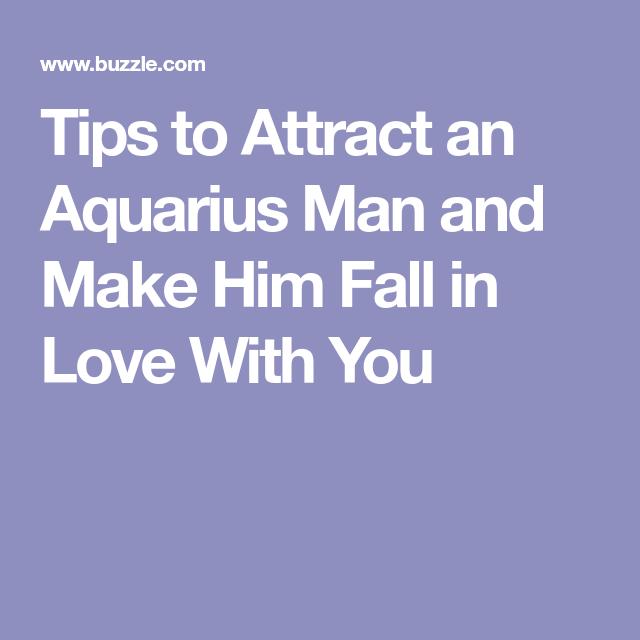 What attracts aquarius men