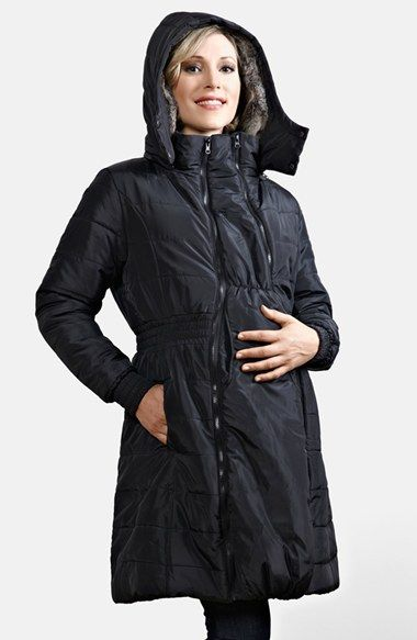 c248a8ebd835e Modern Eternity Quilted Puffer Convertible Maternity Coat | Nordstrom