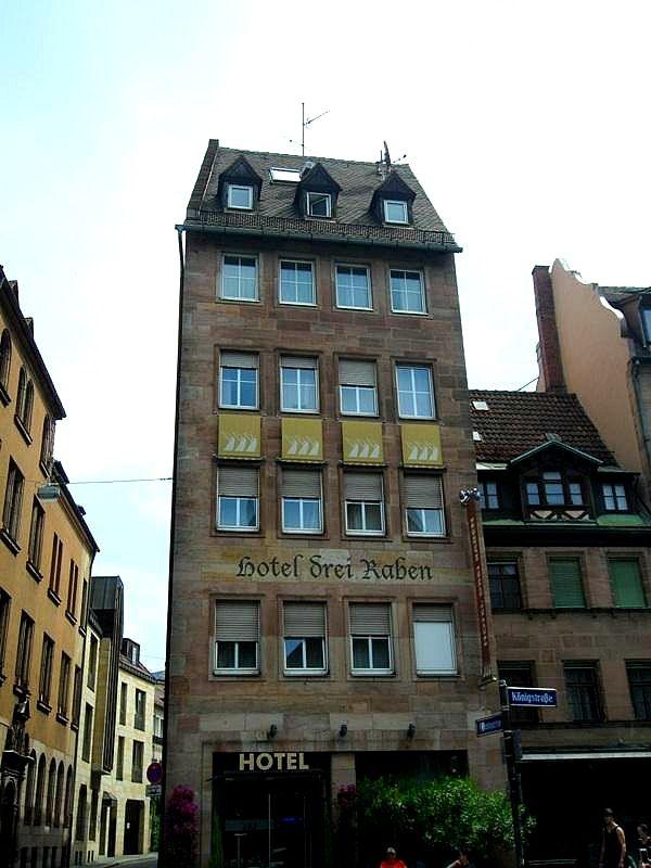 Hotel Review Drei Raben In Nuremberg Germany Nuremberg