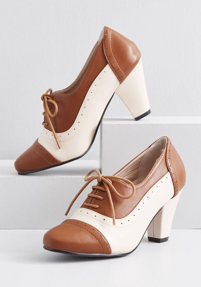 Vintage Style Shoes Vintage Inspired Shoes Vintage Style Shoes Oxford Heels Women Shoes