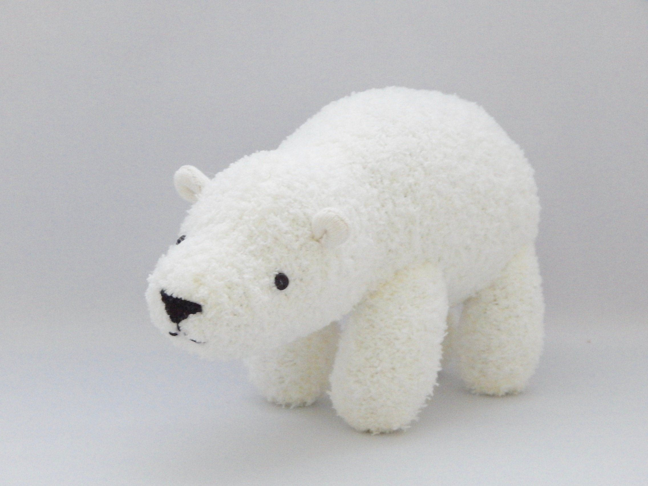 Polar Bear Plush Toy, White Bear Stuffed Animal, Plushie, Sock Monkey #bearplushtoy Polar Bear Plush Toy, White Bear Stuffed Animal, Plushie, Sock Monkey by SockSockWorld on Etsy #bearplushtoy