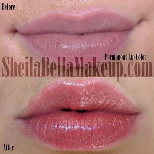 Permanent Lip Color  Lip Colors, Permanent Makeup -9964