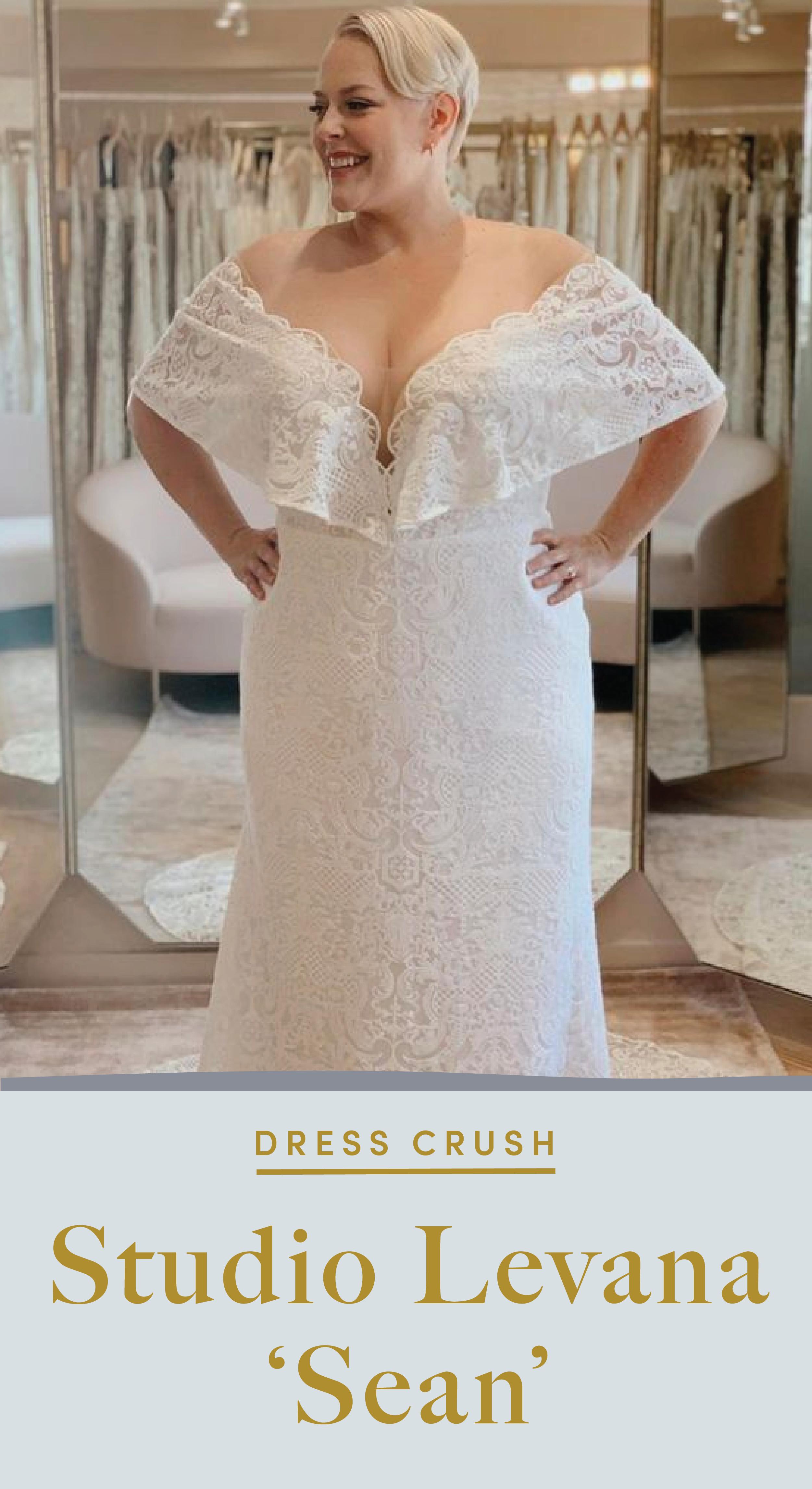 Studio Levana Sean Wedding Gown At Lovely Bride Curvy Wedding Dress Dresses Wedding Dress Shopping [ 4585 x 2501 Pixel ]