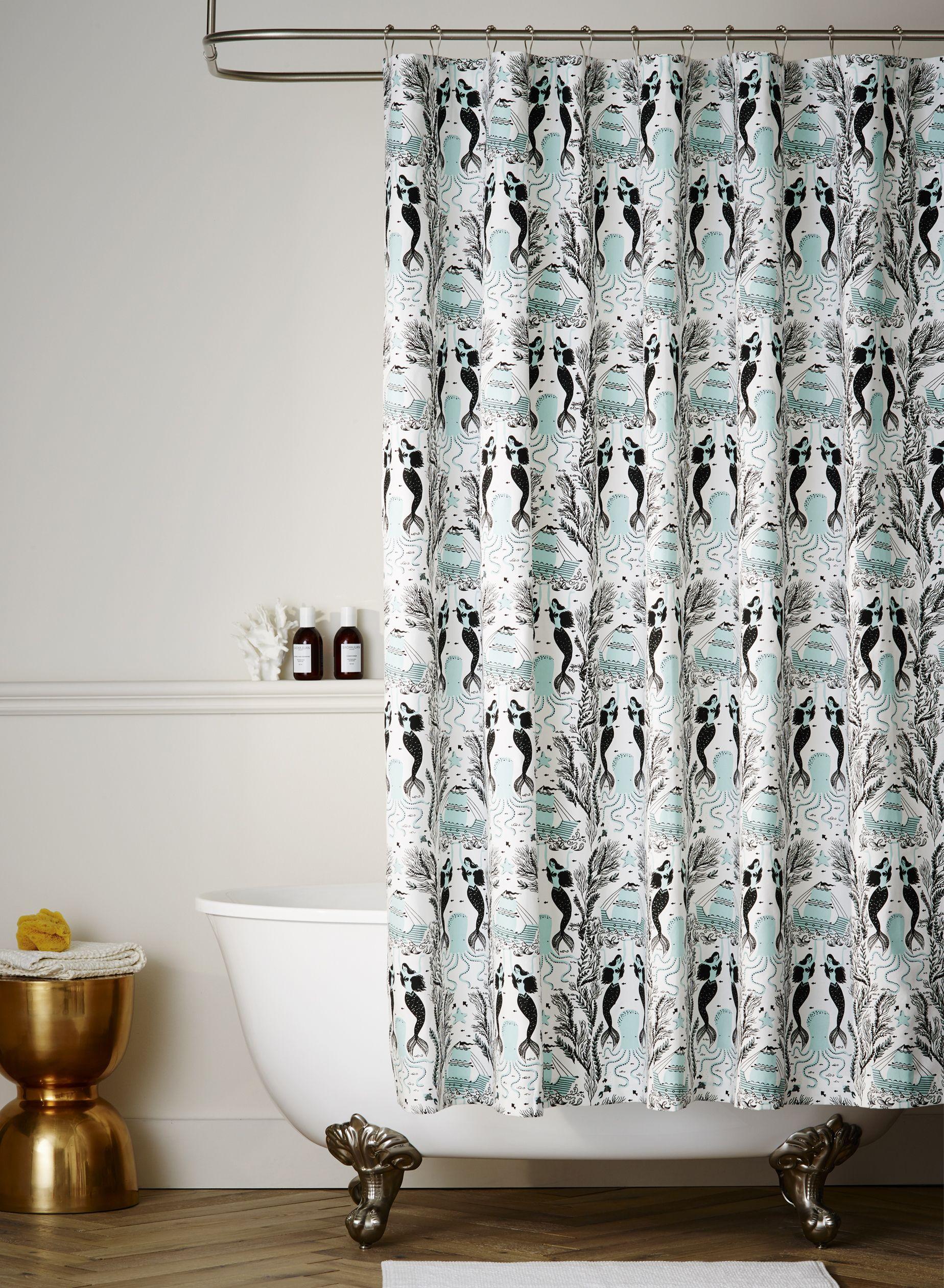 Mermaids (Ocean) Shower Curtain   Decorating 101   Pinterest ...