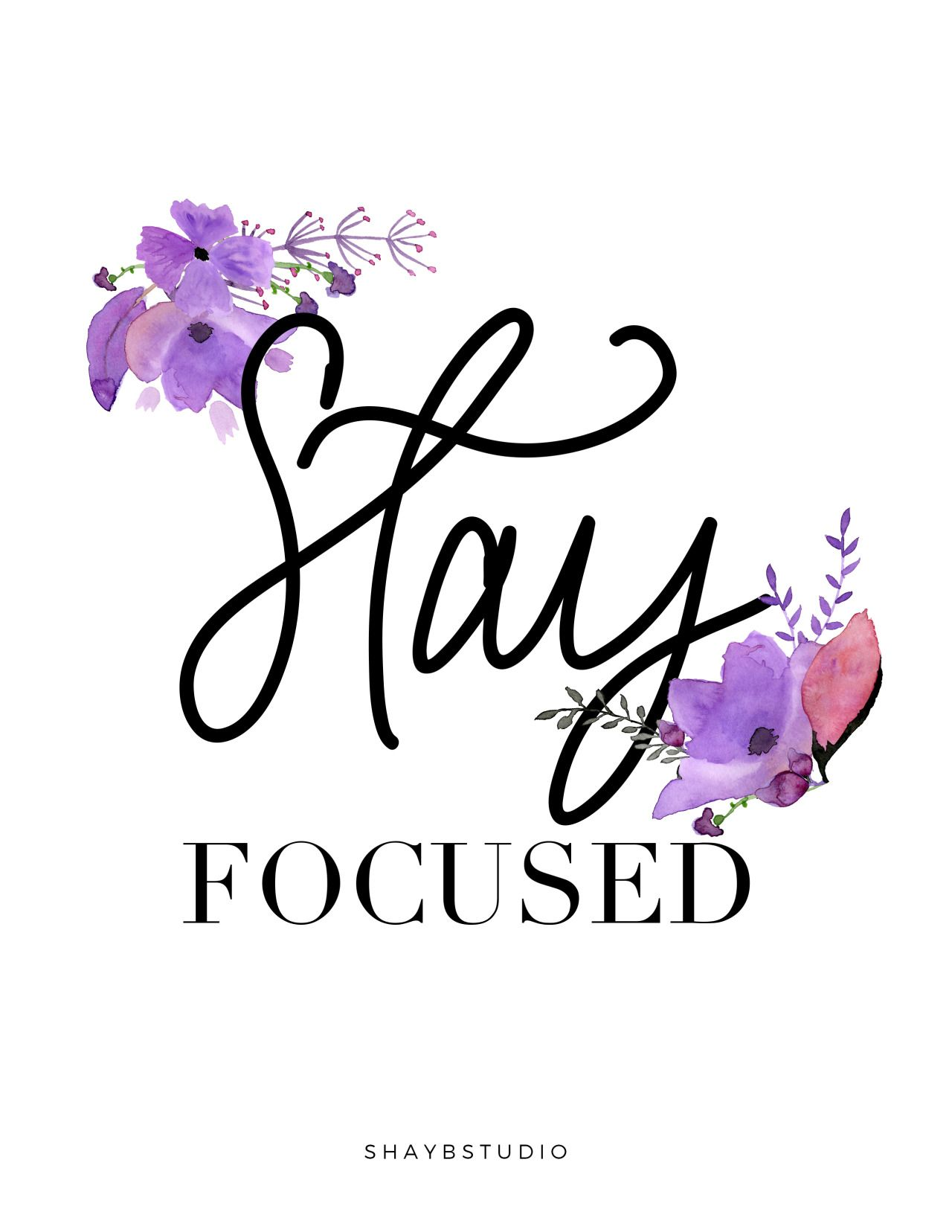 Stay Focused Quotes Everything Healthy  Getting Back On Track  Pinterest  Staying