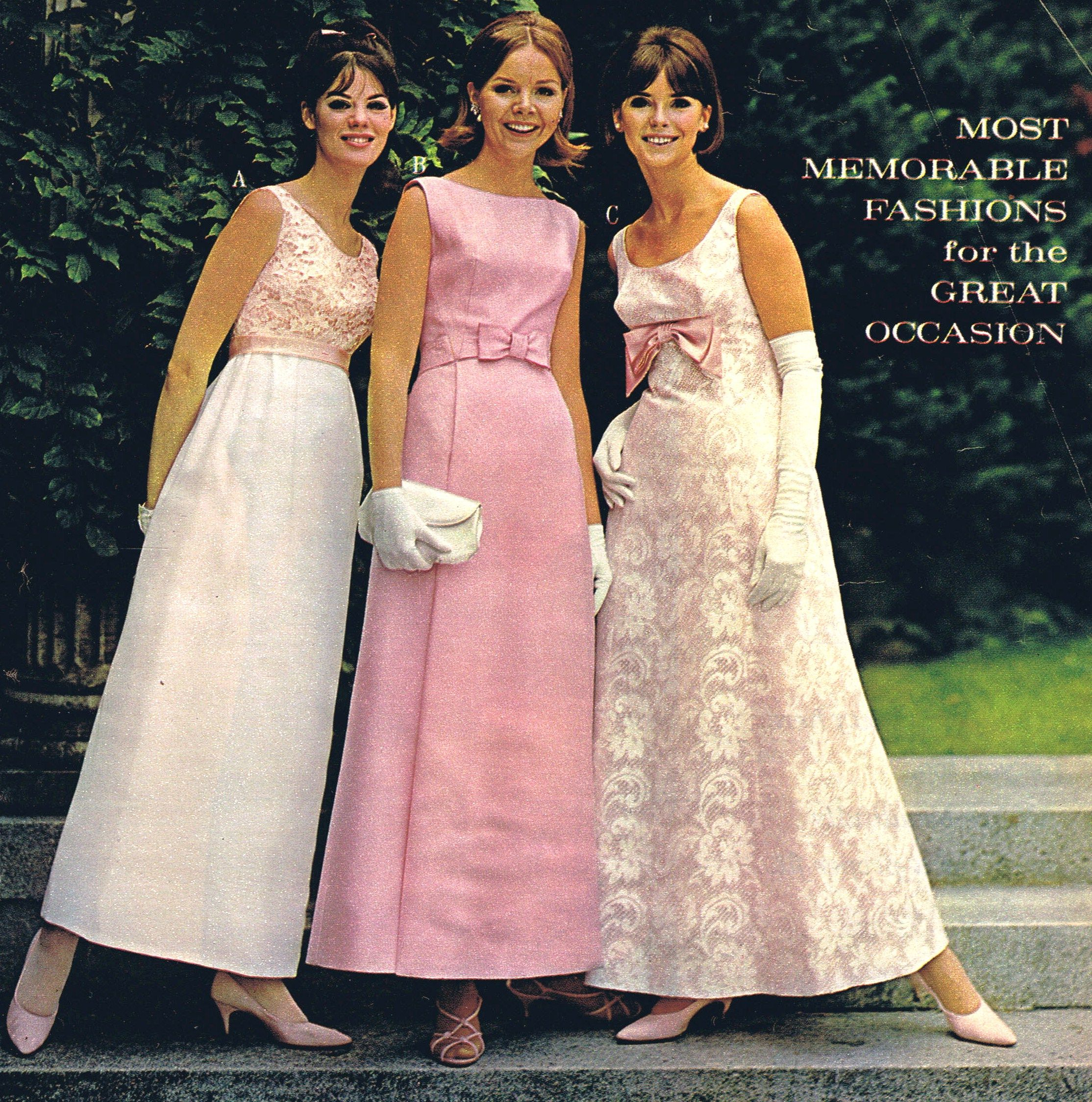 Prom dresses us style I wore a white one wpink roses green