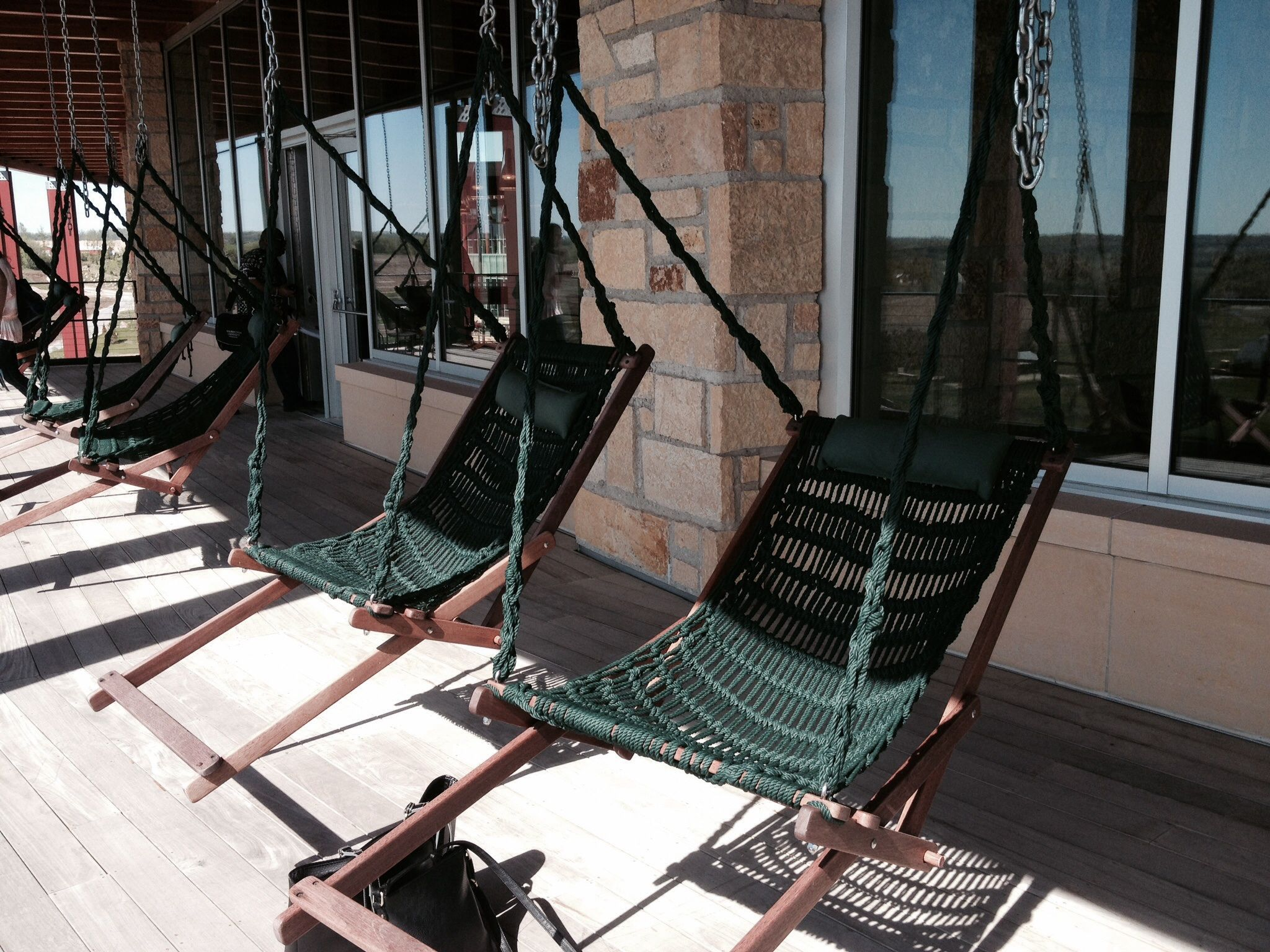 Swings On A Porch At Epic In Verona Wi Relaxing Home