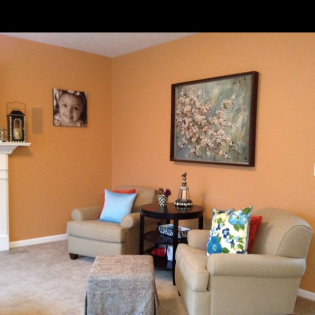 Benjamin Moore Colors For Your Living Room Decor: Benjamin Moore Aura Warm Sunglow