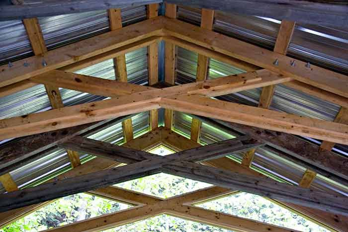 Mortise And Tenon Scissor Truss Ideas For The Property