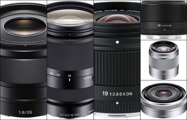 sony e mount lenses. the first sony e-mount lenses you should buy e mount