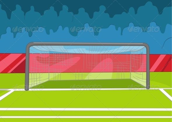 Soccer Field Soccer Field Sport Illustration Sports Design Ideas